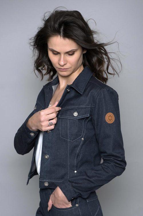 veste femme en coton recyclé